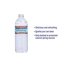 CGW35001CTDEP - Crystal Geyser® Natural Alpine Spring Water