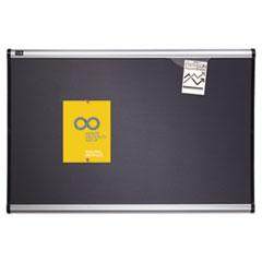 QRTB444A - Quartet® Prestige™ Gray Diamond Mesh Bulletin Board