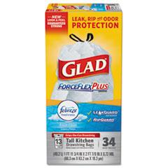 CLO70320 - Glad Force Flex Odor Shield Bags