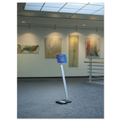 DBL481423 - Durable® Info Sign Duo Floor Stand