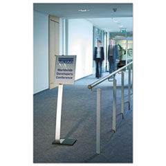DBL481523 - Durable® Info Sign Duo Floor Stand