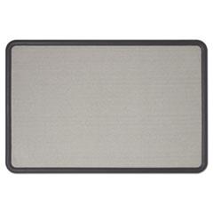 QRT7694G - Quartet® Contour® Fabric Bulletin Board