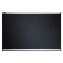 QRTB344A - Quartet® Prestige™ Black Embossed Foam Bulletin Board