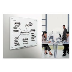 QRTG7248W - Quartet® Infinity™ Magnetic Glass Marker Board