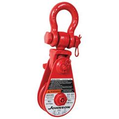 ORS323-474603016 - Gunnebo JohnsonOne Sheave Snatch Blocks w/Shackle