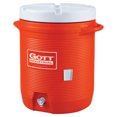 RUB325-1610-IS-ORAN - Rubbermaid - Water Coolers, 10 Gal, Orange