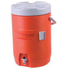 RUB325-1683-01-11 - RubbermaidWater Coolers, 3 Gal, Orange