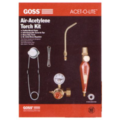 GSS328-KA-37H - GossFeather Flame® Air-Acetylene Torch Outfits