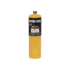 GSS328-QLM-PRO - GossDisposable Cylinders, 16 oz, Mapp