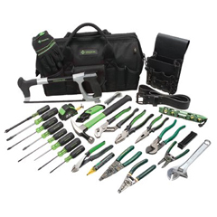 GRL332-0159-11 - Greenlee28 Piece Master Electrician's Tool Kits