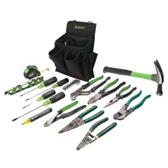 GRL332-0159-12 - Greenlee17 Piece Journeyman's Tool Kits