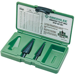 GRL332-03607 - GreenleeKwik Stepper Step Bit Kits