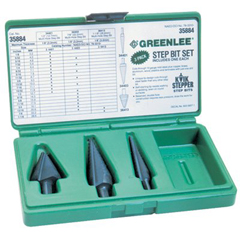 GRL332-35884 - GreenleeKwik Stepper Step Bit Kits