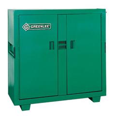 GRL332-5660L - GreenleeDouble Door Utility Cabinet w/Lock Protectors