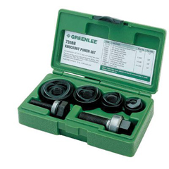 GRL332-735BB - GreenleeManual Round Standard Knockout Punch Kits
