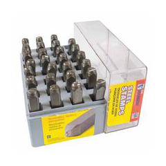 CHH337-20624 - C.H. HansonStandard Steel Hand Stamp Sets