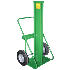 STC339-402-16FW - Saf-T-Cart400 Series Cart, For 9.5-12.5 Dia. Cylinders, Firewall, 10 Pneumatic Wheels