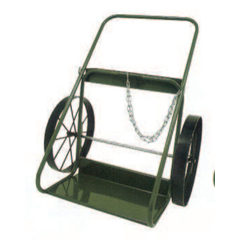STC339-403-20 - Saf-T-Cart400 Series Carts, Holds 9.5-12.5 Dia. Cylinders, 20 In Steel Wheels, 33 W
