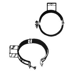 4BB344-TH-107 - 4Bs Bracket - Cylinder Holders