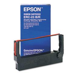 EPSERC23BR - Epson ERC23BR Ribbon, Black/Red