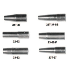 TWE358-1230-1122 - Tweco23 Series Nozzles, Self-Insulated, Tip Flush, 5/8 In, For No. 3 Gun