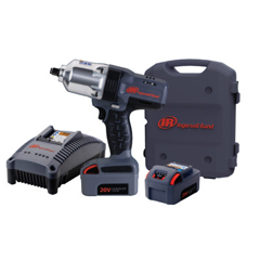 ING383-W7150-K2 - Ingersoll-RandIQV20 Cordless Impactools, 1/2 In, 20 V, 1,900 RPM, 2 Battery Kit