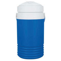 IGL385-41659 - IglooLegend Coolers, 1/2 Gal, Majestic Blue And White