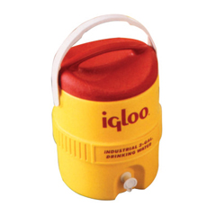 IGL385-765 - Igloo400 Series Coolers, 10 Gal, Red, Yellow