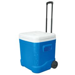 IGL385-45097 - IglooIce Cube Roller Coolers, 60 Qt, Blue