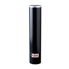 IGL385-8242 - IglooIgloo Cup Dispenser, Uses 4 - 4.5 oz Cups, Black Plastic