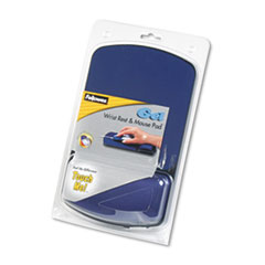 FEL98741 - Fellowes® Gel Wrist Rest and Mouse Pad