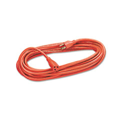 FEL99597 - Fellowes® Indoor/Outdoor Heavy-Duty Extension Cord