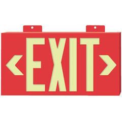 JSS397-7011 - JessupGlo Brite® Eco Framed Exit Signs