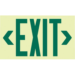 JSS397-7220 - JessupGlo Brite® Eco Unframed Exit Signs