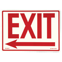 397-EG-7520-F-103-RP - JessupGlow In The Dark Exit Signs