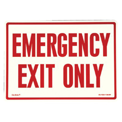 397-EG-7520-F-108-RP - JessupGlow In The Dark Exit Signs