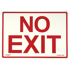 397-EG-7520-F-112-RP - JessupGlow In The Dark Exit Signs