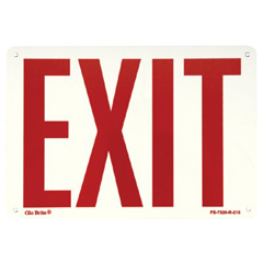 397-FS-7520-R-215 - JessupGlow In The Dark Exit Signs