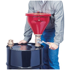 JUS400-08214 - JustriteTip-Over Protection System for Drum Funnels