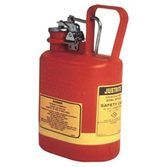 JUS400-14160 - JustriteOval Nonmetallic Type l Safety Cans for Flammables