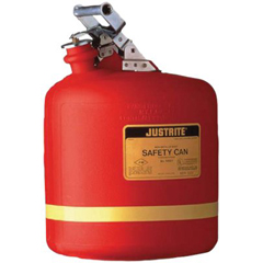JUS400-14561 - JustriteNonmetallic Type l Safety Cans for Flammables
