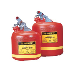 JUS400-14261 - JustriteNonmetallic Type l Safety Cans for Flammables