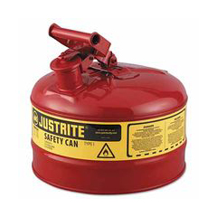 ORS400-7125100 - Justrite2.5g/9.5l Safe Can Red