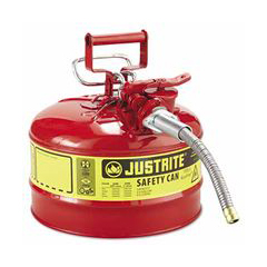 JUS400-7225120 - Justrite - Type ll Safety Cans for Flammables