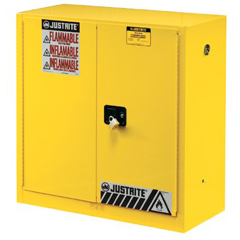 JUS400-896020 - Justrite - Yellow Safety Cabinets for Flammables