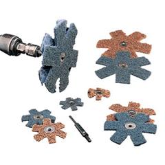 3MA405-048011-13370 - 3M AbrasiveScotch-Brite™ Star-Shaped Buffer Disc
