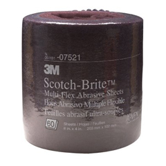3MA405-051131-07521 - 3M AbrasiveScotch-Brite™ Multi-Flex Sheet Rolls