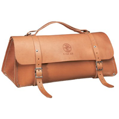 KLT409-5108-24 - Klein ToolsDeluxe Leather Bags