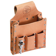 KLT409-5127T - Klein Tools6-Pocket Tool Pouch