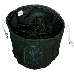KLT409-5151 - Klein ToolsTen-Compartment Drawstring Bags